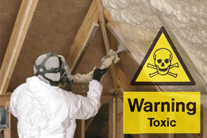 Spray polyurethane foam insulation hides health risks