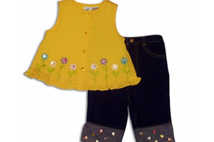 Girl's Pant-And-Shirt Sets Recalled