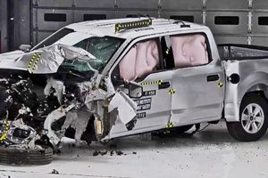 Ford Pickup crash test