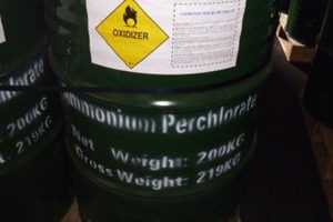 Rocketdyne perchlorate
