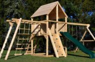 Children Face Cancer Risks From Wood Playsets