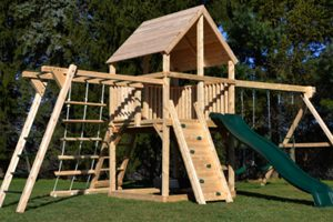 Pressure-Treated Playsets