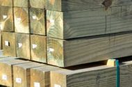 Safer Treated Lumber Offered