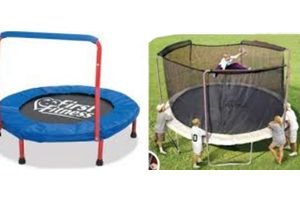 recalled trampolines