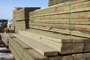 CCA Treated Wood