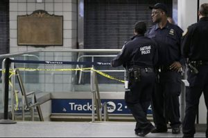 Trains Collide In Penn Station