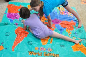 floor mat map games