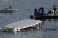 20 Die As Tour Boat Capsizes on N.Y. Lake