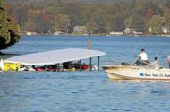 Tour Boat Overturns on Lake George, Killing 20