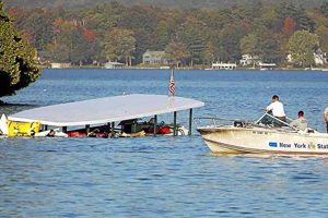 Tour Boat Overturns
