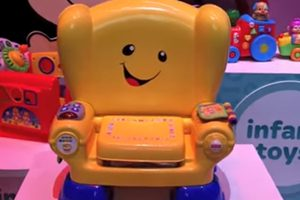 Fisher-Price musical toy chair