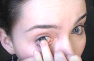 Contact lens solution withdrawn