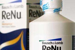 fda not ready to recall Bausch & Lomb solution