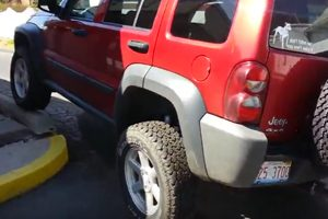 Recalled Jeep