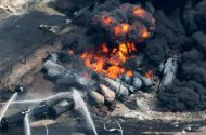 Train Derails, Bursts Into Flames in Pa.