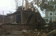 Marlboro house explosion critically injures two