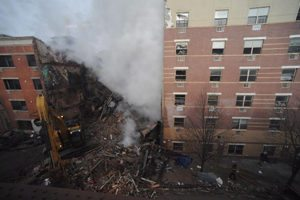 Harlem Building Collapse