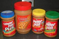 Tainted peanut butter spreading