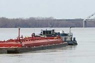 Cleanup effort continues at Ohio River barge spill