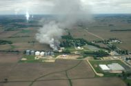 3 towns evacuated after ammonia leak