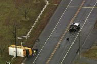 School Bus Involved in Collision in New Jersey