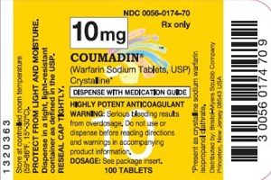 Coumadin Label