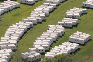 fema move thousands from toxic trailers