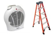 Dangerous Heaters and Defective Ladders Recalled by CPSC
