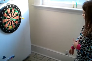 Magnetic Dart Boards Latest Magnetic Toy Set to Put Kids at Risk
