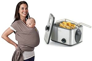 infant sling, deep fryer Recalled by CPSC