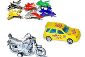 Toy Airplanes, Cars and Motorcycles Recalled for Lead Paint