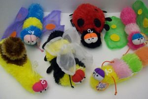 Cuddly Cousins Plush Insect Toy