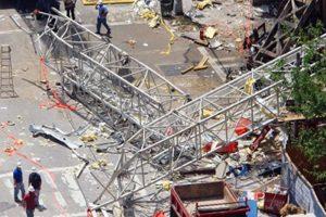 2 deaths in crane collapse