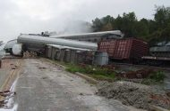 Louisiana Train Derailment and Acid Spill