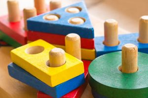 stuffed and wooden toys