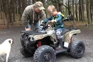 ATV Size Guidelines Put Kids at Risk