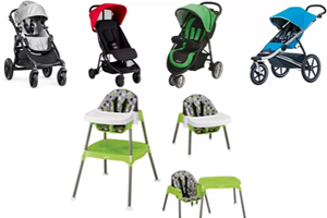 CPSC Announces High Chair, Stroller, and Toy Recalls