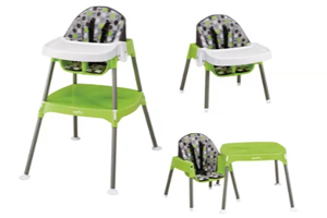 Evenflo Recalls Nearly 100K High Chairs