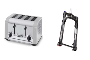 Three CPSC Recalls: Viking Toaster, SRAM Bicycle Forks, Ms. Bubble Hooded Jackets