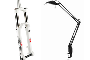 Clamp Lamps, Bicycle Forks Recalled for Burn, Fall Hazards