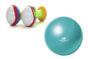 Toy Maracas, Fitness Balls Recalled for Choking and Suffocation, Fall Hazards