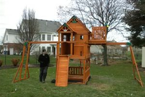 Wooden Adventure Playsets