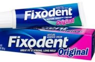 Procter & Gamble Cautions on Zinc in Fixodent