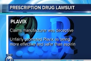 Plavix User Who Suffered Gastrointestinal Hemorrhage Files Lawsuit