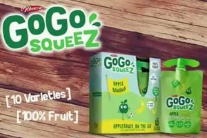 GoGo squeeZ Applesauce Products
