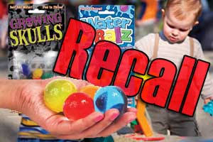 Dunecraft Recall Toys Ingestion Injuries