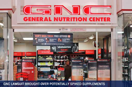 GNC Lawsuit Brought Over Potentially Spiked Supplements
