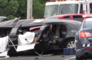 Car Crash in Southold Long Island with One Dead One Injured