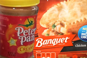 ConAgra Banquet Pot Pie, Peter Pan Peanut Butter Recall Executive to Leave Company