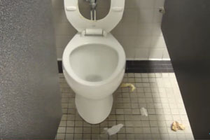 Cruise Ship Norovirus Study Points Finger at Dirty Public Bathrooms